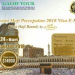 Berangkat Pasti Paket Haji ONH Plus 2019 Visa Resmi