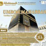 Paket Umroh Bulan Maret 2019 Sujud Syukur
