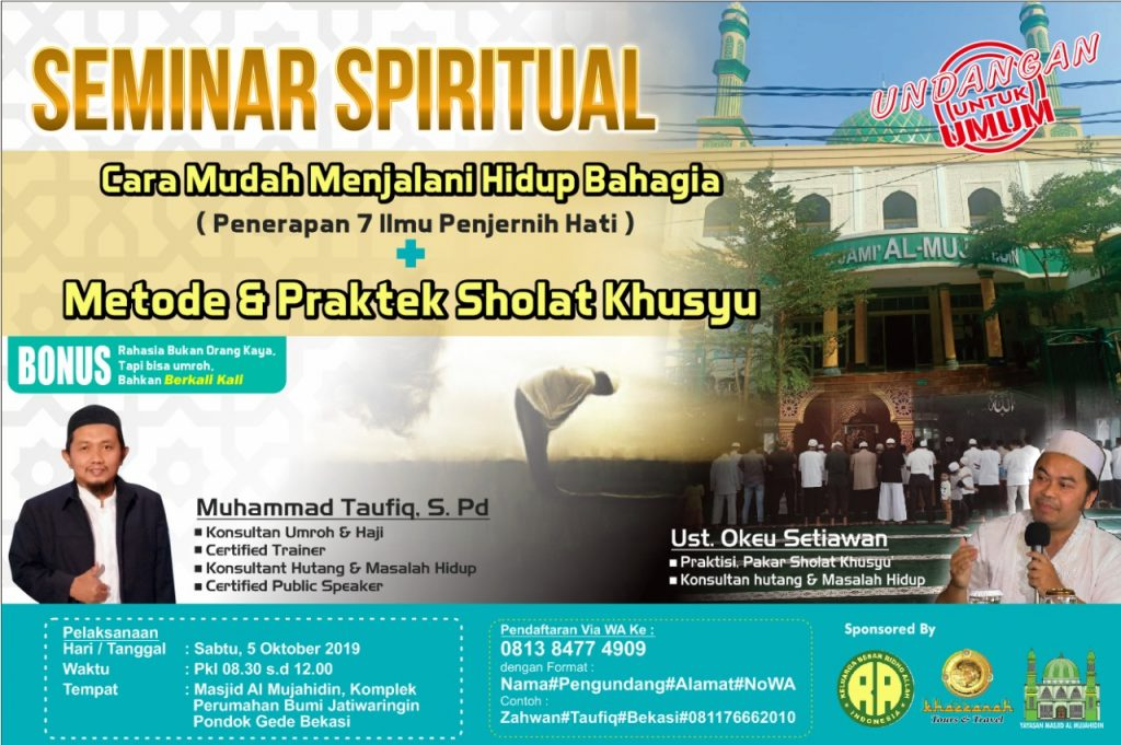 workshop shalat khusyu