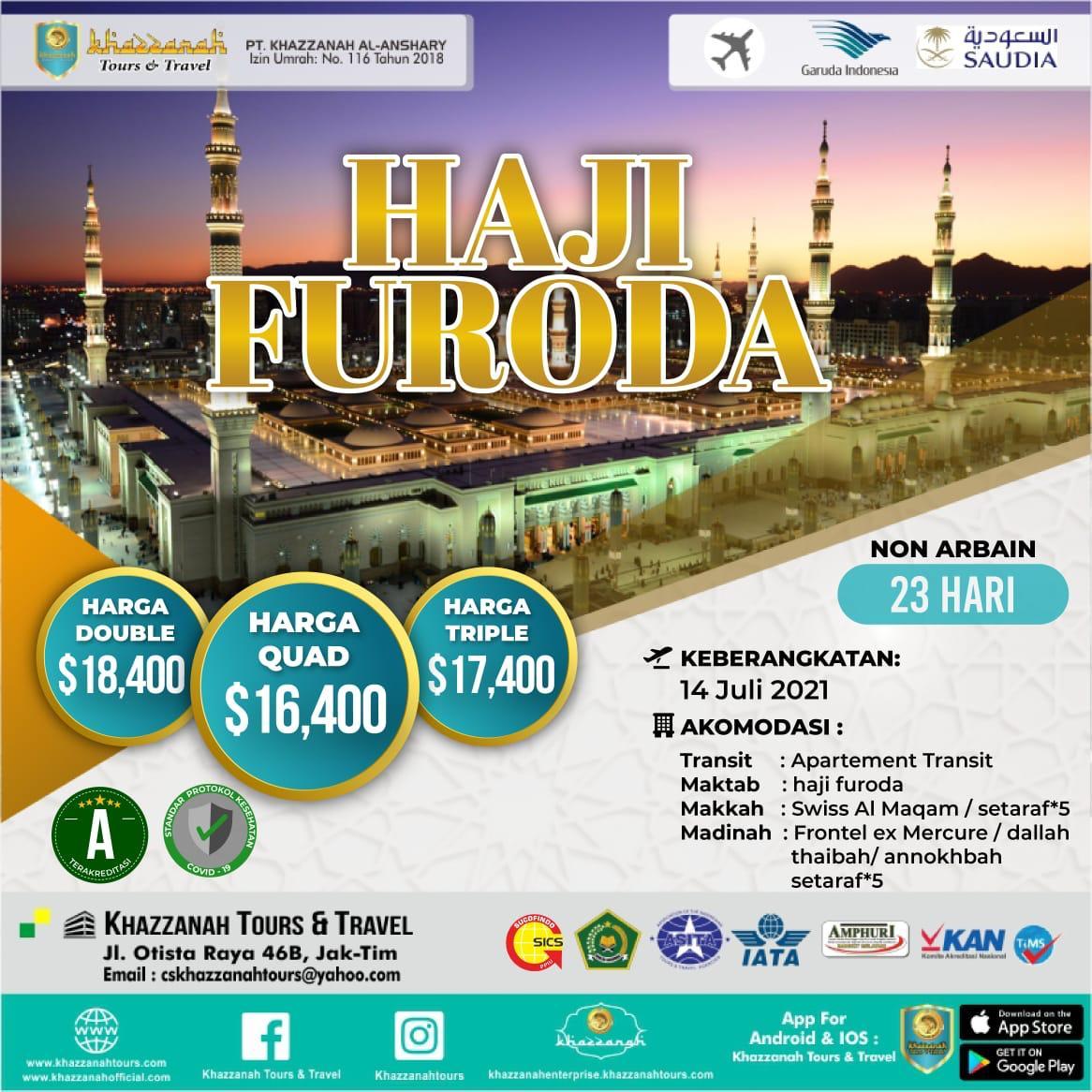 Paket Haji Furoda