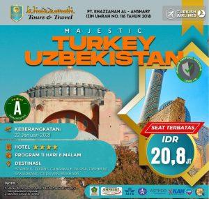 paket wisata turki uzbekistan
